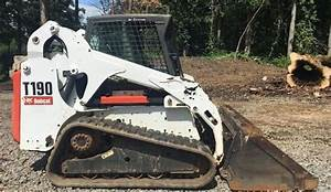 Bobcat T190 Turbo High Flow Compact Track Loader G Series
