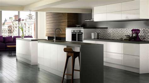high gloss white modern kitchen cabinets brands options