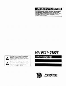 Ma 6150t Manuals