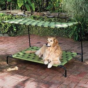 new pet dog bed with canopy shade indoor outdoor choose With outdoor covered dog bed