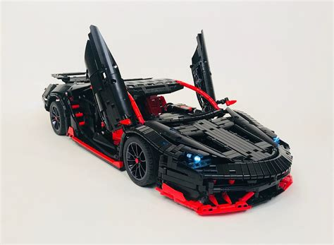 lego technic lamborghini lego moc 12560 lamborghini centenario technic gt model 2018 rebrickable build with lego
