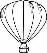 Balloon Coloring Air Drawing Sheet Template Balloons Printable Getdrawings Clipartmag Pencil sketch template