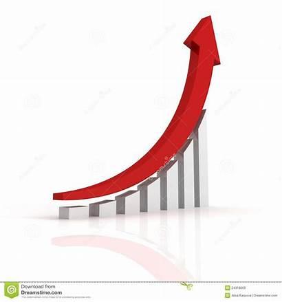 Growth Arrow Graph Success Clipart Business Bar
