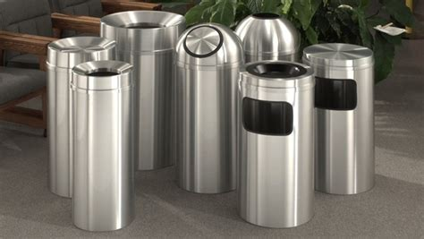 How To Clean A Stainless Steel Trash Can