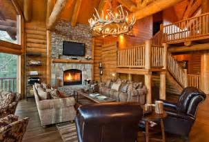 22 luxurious log cabin interiors you to see log