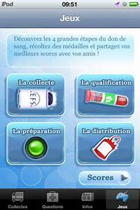 Application Utile Iphone : don de sang pour iphone une application utile par l etablissement fran ais du sang ~ Medecine-chirurgie-esthetiques.com Avis de Voitures