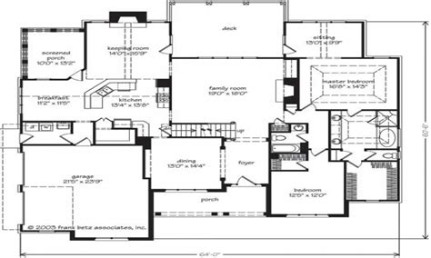southern home floor plans southern living house plans home one house plans