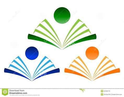 book logo stock vector illustration of label open sticker 22456176