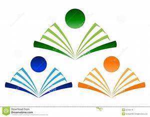 Book logo stock vector. Image of label, open, sticker ...