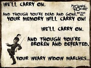 Welcome To The Black Parade - My Chemical Romance Lyrics ...