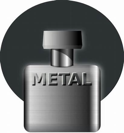 Perfume Bottle Clip Vector Clipart Metal Cologne