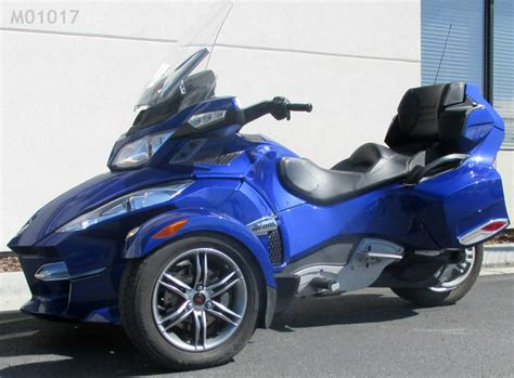 2012 Can-am Spyder Roadster Rt Sport Touring Motorcycle