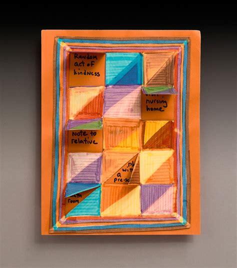 kindness calendar quilt craft crayolacom