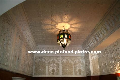 faux plafond plaque de platre style pour la d 233 coration au maroc d 233 co plafond platre