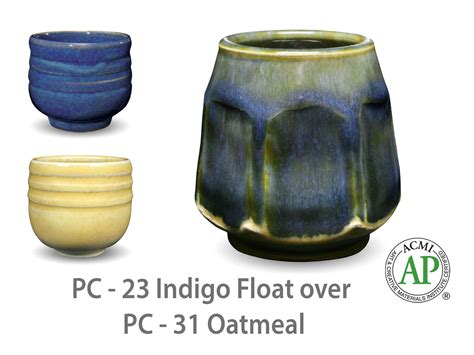 amaco pottery amaco potter s choice layered glazes pc 31 oatmeal and pc