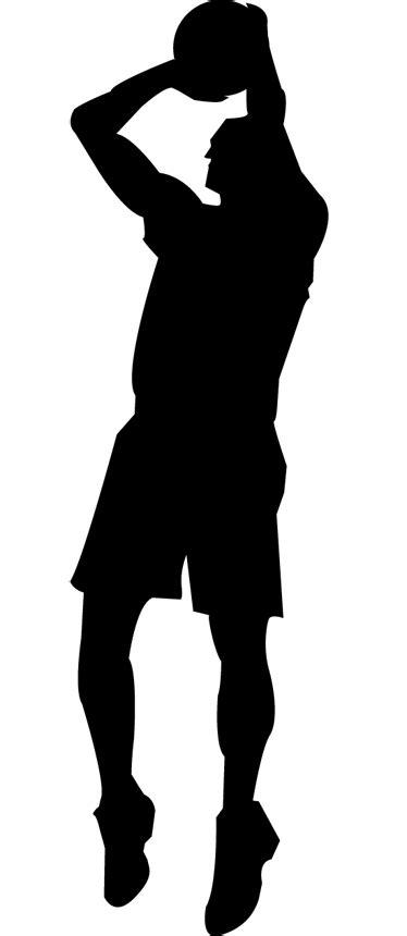 panier basket chambre sticker silhouette basketteur tenstickers
