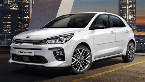 2019 Kia Rio Gtline Revealed With Sporty Looks