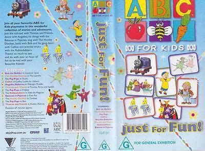 abc just for vhs pal a find 163 22 62