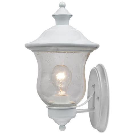 jacob 1 light 13 75 quot white outdoor wall light at menards 174
