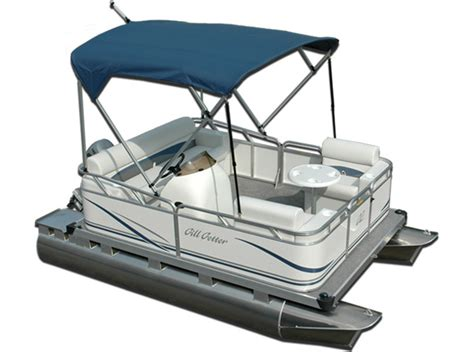 Gillgetter Pontoon Boats by Research Gillgetter Pontoons 713 Fish N Cruise Pontoon