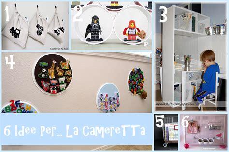 Idee Camerette Bambini Fai Da Te by 6 Idee Prese In Rete Per Organizzare La Cameretta Dei Bambini