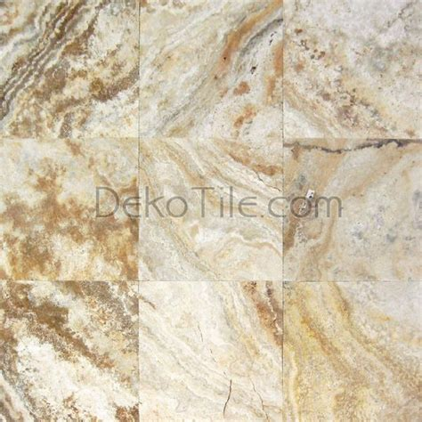 24 x 24 honed and unfilled scabos travertine tile deko tile