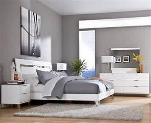 Schlafzimmer Set Modern : schlafzimmer grau ein modernes schlafzimmer interior in grau freshouse ~ Markanthonyermac.com Haus und Dekorationen