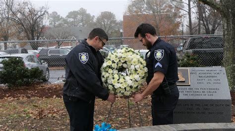 Myrtle Beach officer killed in line of duty remembered ...