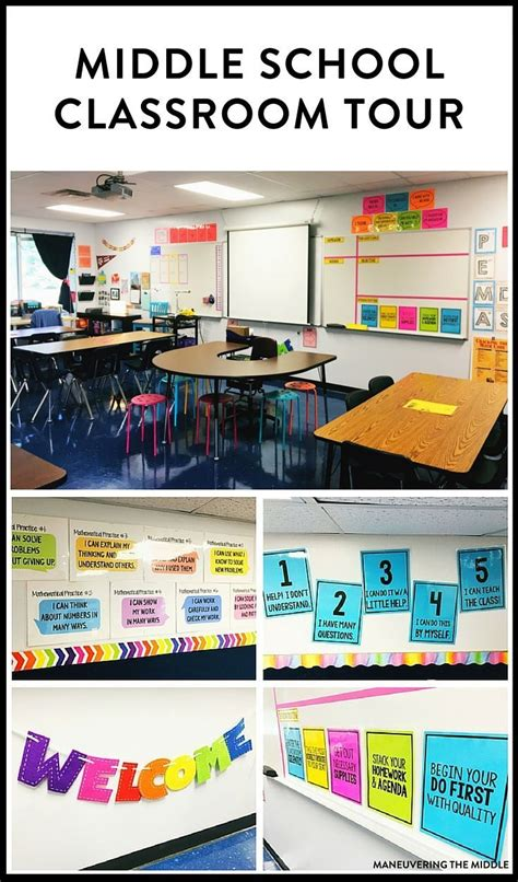 great classroom decorating ideas middle school classroom tour back to school middle