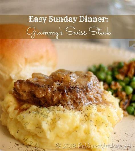 sunday dinner recipes 25 best ideas about swiss steak on pinterest slow cooker swiss steak recipe for swiss steak