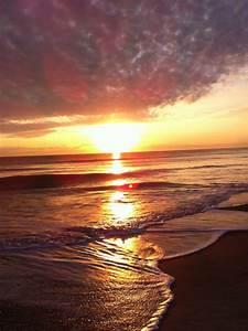 beach sunrise on Tumblr