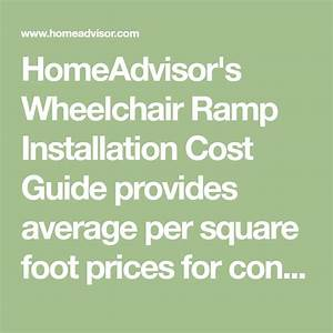 Homeadvisor U0026 39 S Wheelchair Ramp Installation Cost Guide