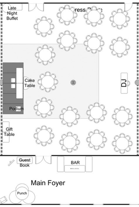free wedding floor plan template how to choose your wedding reception layout design