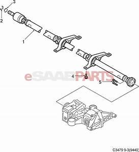 12827398  Saab Xwd 9  Prop Shaft  3