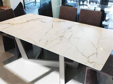 iori arredamenti tavolo rettangolare in ceramica bonaldo in offerta outlet