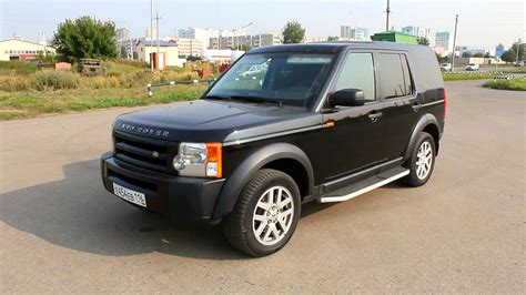 land rover discovery 2007 2007 land rover discovery 3 se start up engine and in