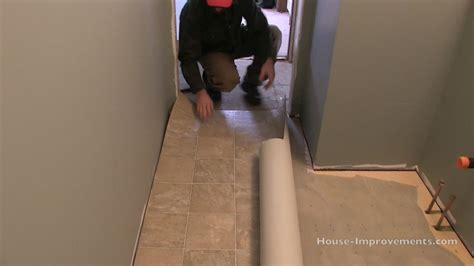 How To Install Vinyl Flooring Youtube