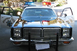 california hp car  dodge monaco police package