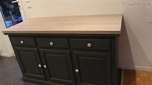 formidable meuble evier cuisine ikea 8 buffet bas avec With meuble plan de travail cuisine ikea