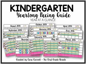 Year Long Planning  U0026 Pacing Guide  K  U0026 1st Grades