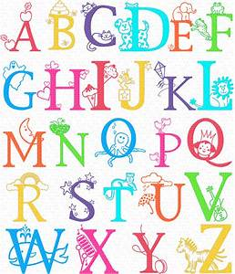 letters of the alphabet clipart best With pics of alphabet letters