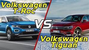 T Roc Dimensions : 2018 volkswagen t roc vs volkswagen tiguan short youtube ~ Medecine-chirurgie-esthetiques.com Avis de Voitures