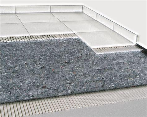 tapis d isolation des bruits d impact durabase sw