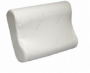 cervical contour pillow memory foam chiropractic vented With best chiropractic pillow for side sleepers