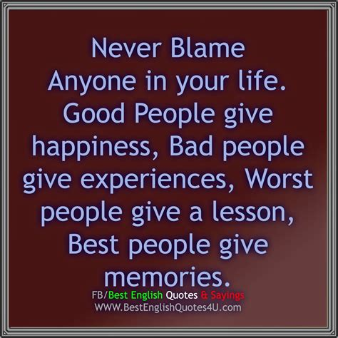 blame quotes and sayings quotesgram