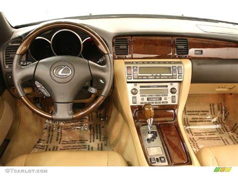2006 Lexus Sc 430 Pebble Beach Edition Camel Dashboard