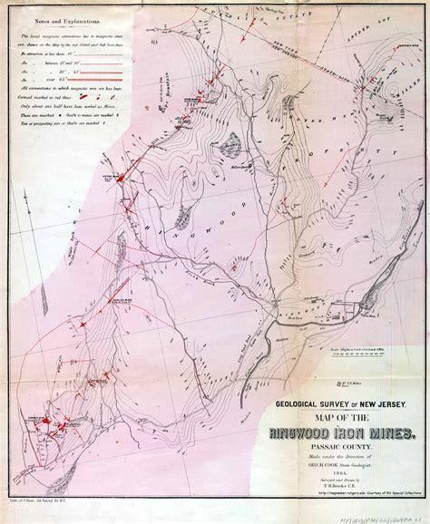 geological survey and mines bureau history ringwood landfill mines superfund site