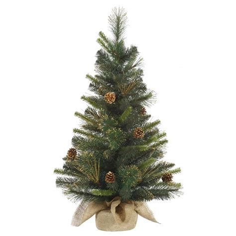 gold tipped christmas tree vickerman 27892 3 x 18 quot gold glitter mixed pine with gold tip pine cones tree