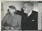 1948 Press Photo Randolph Churchill Engaged To Jane ...