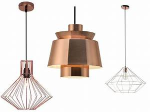 Lustre En Cuivre : luminaire suspension cuivre ~ Teatrodelosmanantiales.com Idées de Décoration